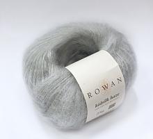 Kidsilk Haze /Кидсилк Хэйз/ Rowan 676 серый жемчуг