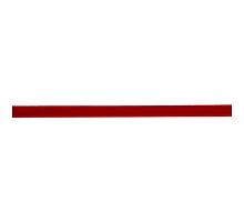 Лента бархатная 6 мм, красная