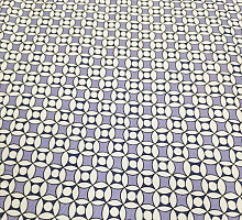 Поплин стрейч шарики фиолетовые