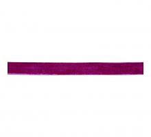 Лента бархатная 12 мм, светло-фиолетовая