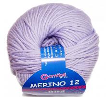Пряжа Мерино-12 № 8268 сирень