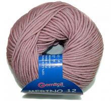 Пряжа Мерино-12 № 1708 пыльная роза