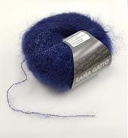 Пряжа SILK MOHAIR LUREX (Силк Мохер Люрекс), цвет 6035 темно-синий
