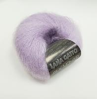 Пряжа SILK MOHAIR LUREX (Силк Мохер Люрекс), цвет 7258 нежно-сиреневый