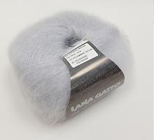 Пряжа SILK MOHAIR LUREX (Силк Мохер Люрекс), цвет 6033 жемчужно-серый