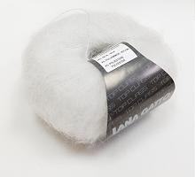 Пряжа SILK MOHAIR LUREX (Силк Мохер Люрекс), цвет 6027 белый
