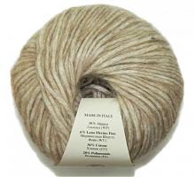 Пряжа Калари (Kalari), цвет 1615 припыленный бежевый меланж