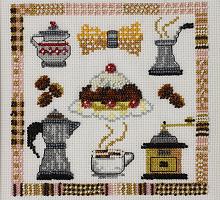 """Набор для вышивания """"Кофе"""""""