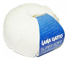Пряжа Суперсофт (SUPERSOFT), цвет 10001 белый