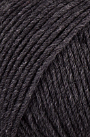 Пряжа Долли 125 (Dolly 125), цвет 320 т.серый меланж