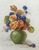 """Набор для вышивания """"Ягоды ежевики"""" по рисунку К. Кляйн"""