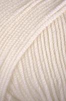 Пряжа Dolly 125 цвет 001 белый