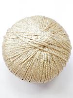 Пряжа Гэтсби № 88504 кремово-золотой