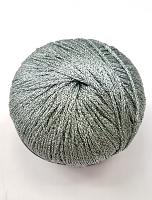 Пряжа GATSBY, цвет 6 серебристый с серебром