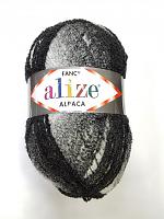 Rainbow Alize (Рейнбоу Ализе), цвет 1001 черно-белый