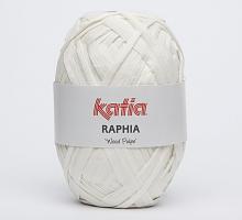 """Пряжа Raphia """"Wood Pulpe"""", цвет 81 молочный"""