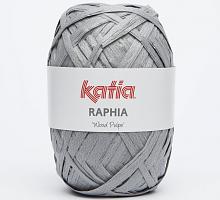 "Пряжа Raphia ""Wood Pulpe"", цвет 87 серый"