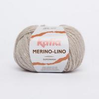 Пряжа Merino-Lino, цвет 501 серый камень