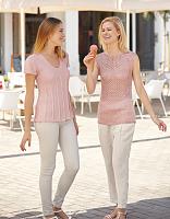 Пряжа Brisa, цвет 48 нежно-розовый