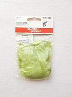 Чесуча (дикий шелк) для валяния, светло-зеленый