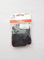 Чесуча (дикий шелк) для валяния, черный