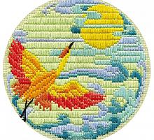 """Набор для вышивания """"Журавль"""" ПТ-757"""