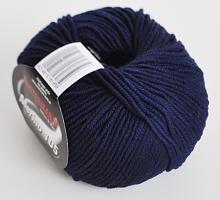 Пряжа Austermann-Merino-105-0304 синяя ночь
