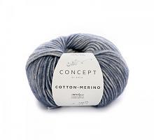 Cotton-Merino (Коттон-Мерино Плюс), 305 сине-белый