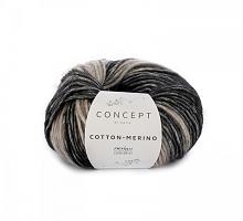 Cotton-Merino (Коттон-Мерино Плюс), 207 черно-белый