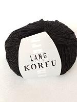 Пряжа KORFU, цвет 04 черный