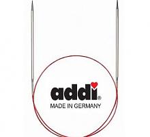 Спицы никелированные круговые с удлиненным кончиком addi