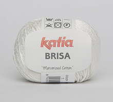 Пряжа Brisa (Бриса), цвет 01 белый