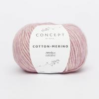 Пряжа Cotton-Merino, цвет 119 лиловый с розовым