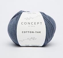 Пряжа Cotton-Yak (Коттон-Як), цвет 116 джинсовый
