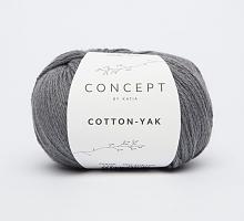 Пряжа Cotton-Yak (Коттон-Як), цвет 113 серый