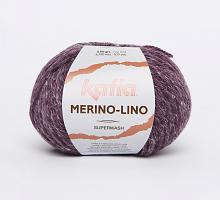 Пряжа Merino-Lino, цвет 512 темная фуксия
