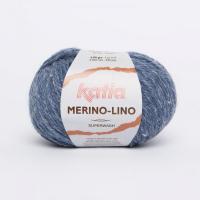 Пряжа Merino-Lino, цвет 507 джинсовый