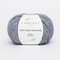 пряжа Сotton-Merino (Коттон мерино) цвет 115 синий
