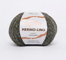 Пряжа Merino-Lino, цвет 511 хаки