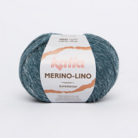 Пряжа Merino-Lino, цвет 514 сине-зеленый