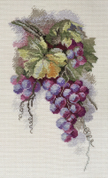 """Набор для вышивания """"Синий виноград"""" по рисунку С. Амес"""
