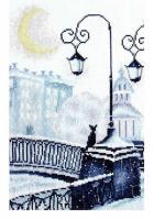 """Набор для вышивания """"Зимний мостик"""" по рисунку А. Майской"""