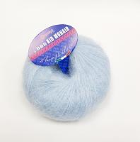Пряжа Kid Mohair (Кид мохер) цвет 6277 небесно-голубой