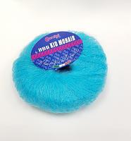 Пряжа Kid Mohair (Кид мохер) цвет 0108 бирюзовый