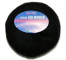 Пряжа Kid Mohair (Кид мохер) цвет 0200 черный
