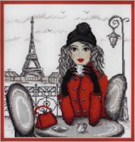 """Набор для вышивания """"Париж"""" по рисунку О. Куреевой"""