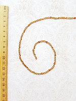 Цепь декоративная золото, ширина 4 мм.