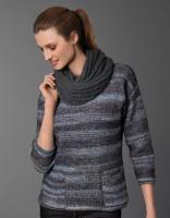 Пряжа Cotton-Merino Plus (Коттон-Мерино плюс), цвет 205 голубой/синий