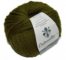 Пряжа Катенелла (Catenella), цвет 2563 хаки