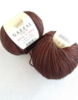 Пряжа ROCK'N`ROLL (Рок-н-Ролл), цвет 13189 коричневый